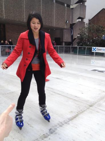 Paying to skate on a melting rink...