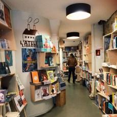 Charming book store near Jourdain