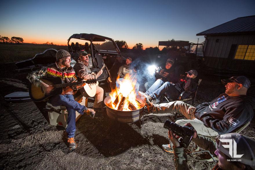 campfire concert