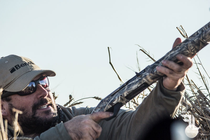 Keith with his Benelli