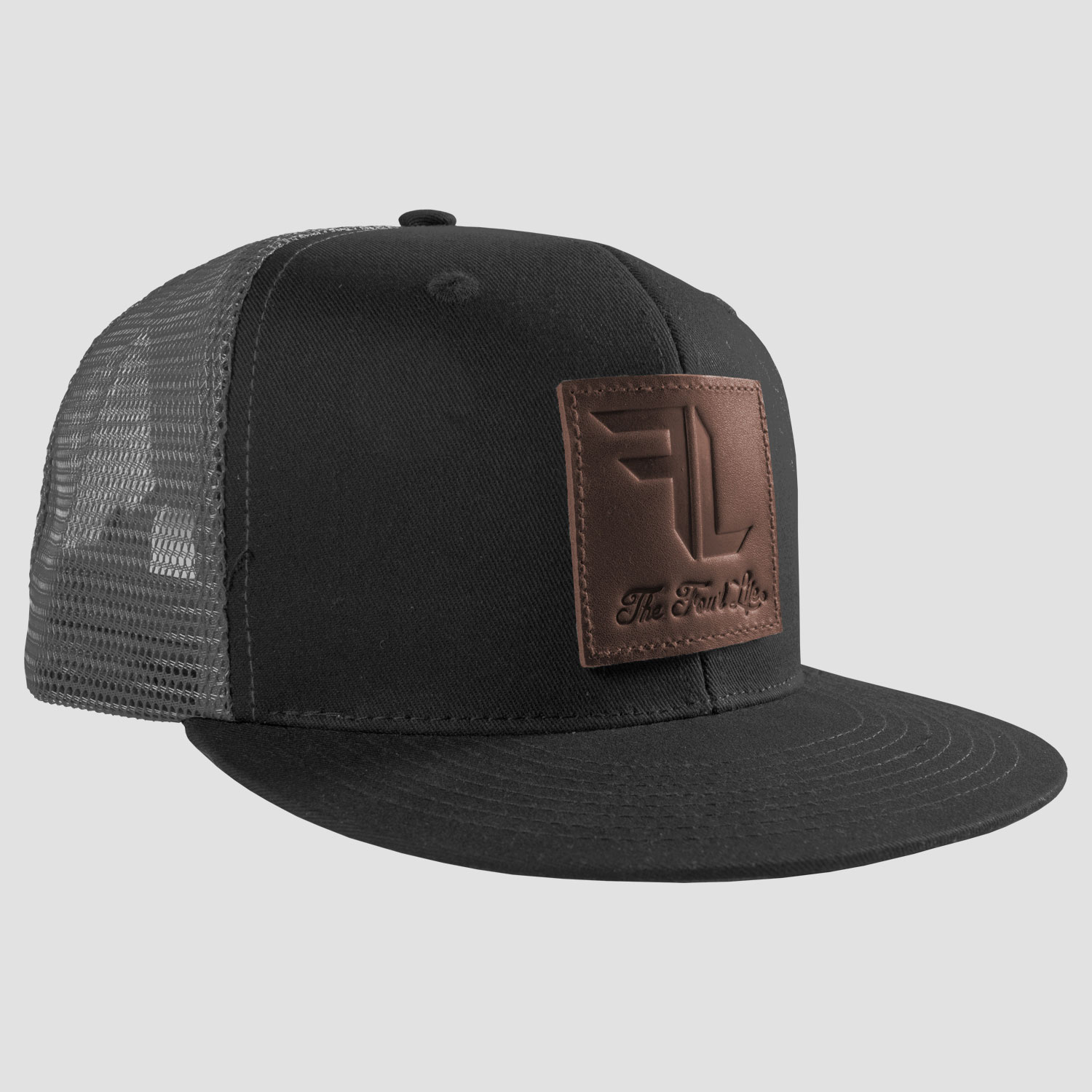a00ce749e FL Leather Patch Hat - The Fowl Life