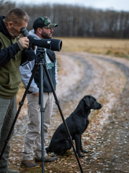 Waterfowl hunting scouting