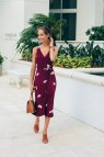 Floral Midi Dress Wrap