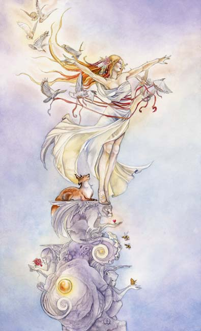The Fool - Shadowscapes Tarot