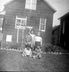Group of kids, 18th Street