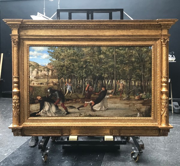 National London Reframing Bellini Frame