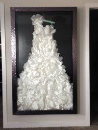 Fine Custom Framing for your Wedding Dress - The Framery