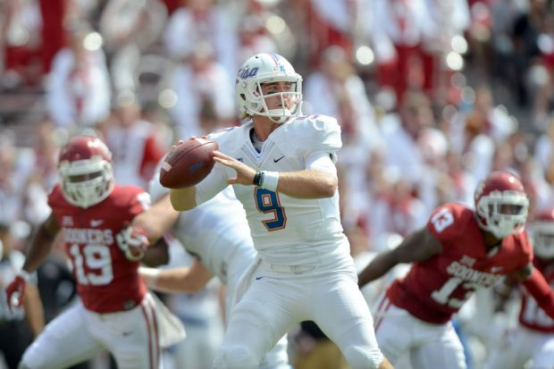 Last year at Oklahoma, TU quarterback Dane Evans threw for 427 yards and four touchdowns.