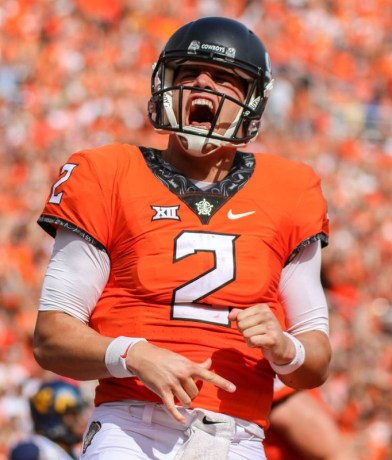 OSU quarterback Mason Rudolph. (PHOTO: Daily O'Collegian)