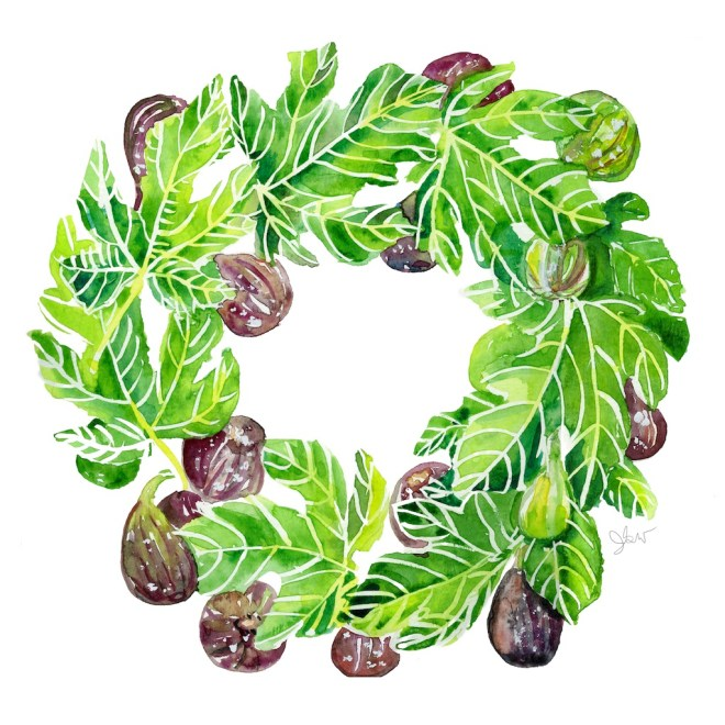 FIG WREATH 2