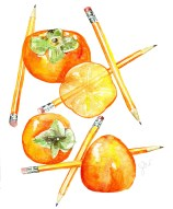 Jessie Kanelos Weiner_persimmons and pencils_thefrancofly.com