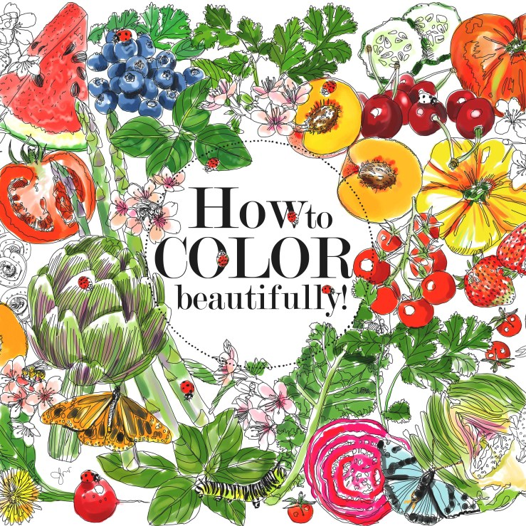 Yes I Published A Coloring Book Edible Paradise Of Seasonal Fruits And Vegetables Universe But What Do Actually Know About