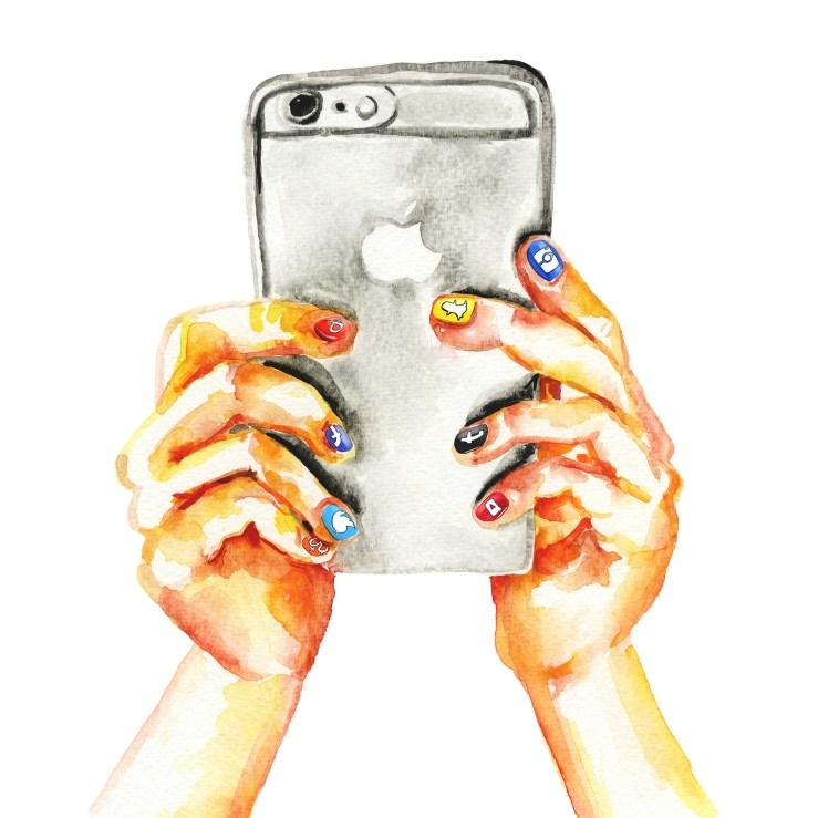 Social media phone 2