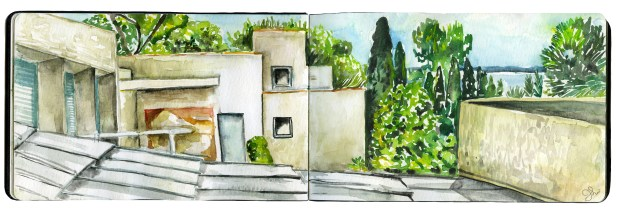 Vacation sketchbook 3