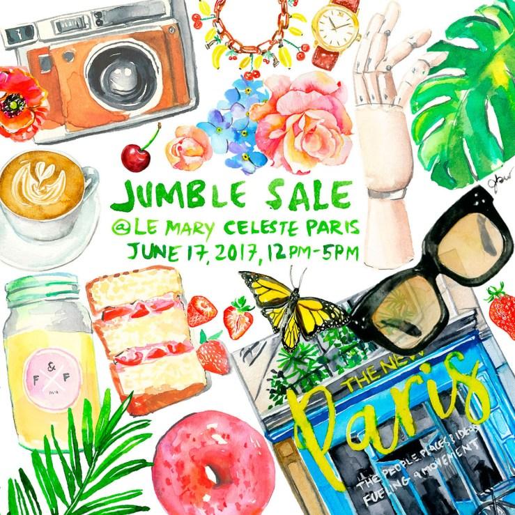 Jumble sale flyer_Jessie Kanelos Weiner LD