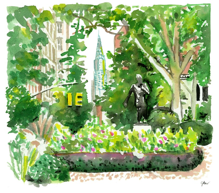 Gramercy Park_East Village Walk_Jessie Kanelos Weiner