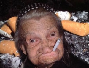 ugly woman photo