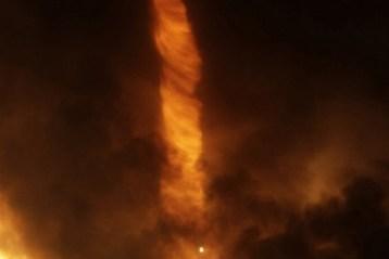 Hungarian Fire Tornado