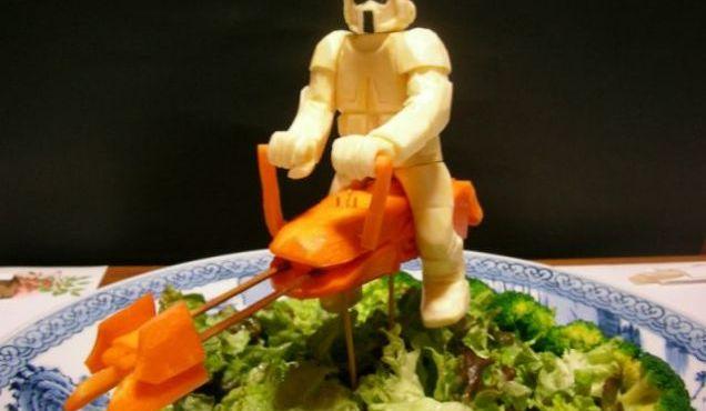 Vegetable Star Wars