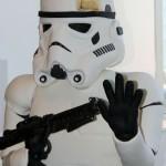 Life-size Stormtrooper cake
