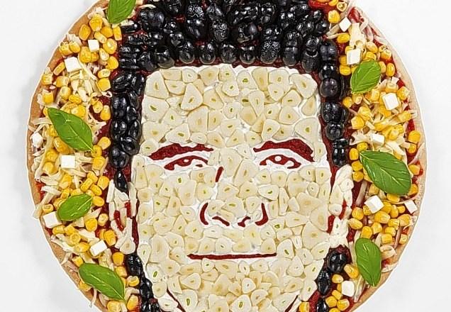 pizza portrait