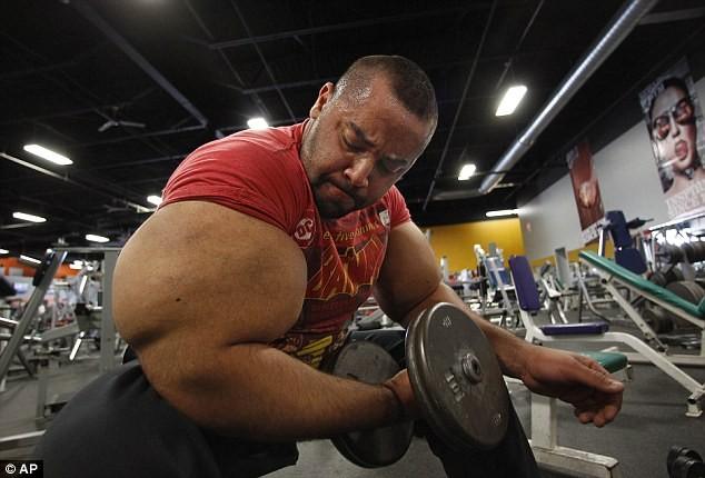 bodybuilder freaky