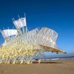 The Strange Machines that Wander a Dutch Beach