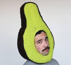 weird art hat