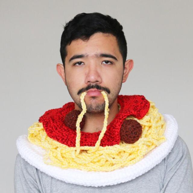 spaghetti hat
