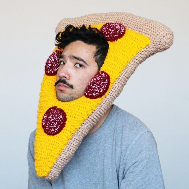 weird food hat