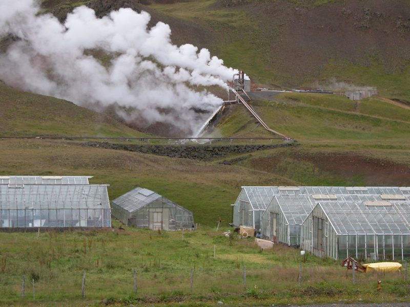 iceland geothermal greenhouses