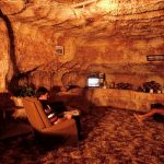The town where everyone lives underground