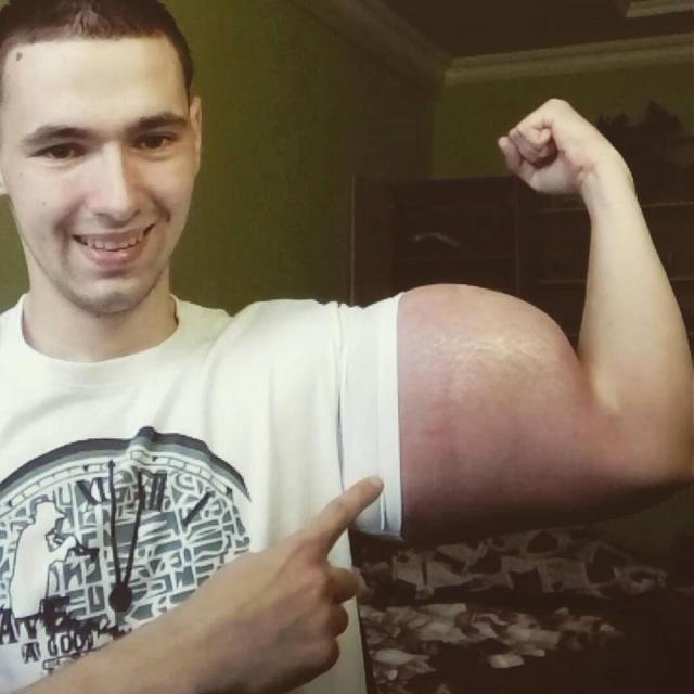 strange bodybuilder
