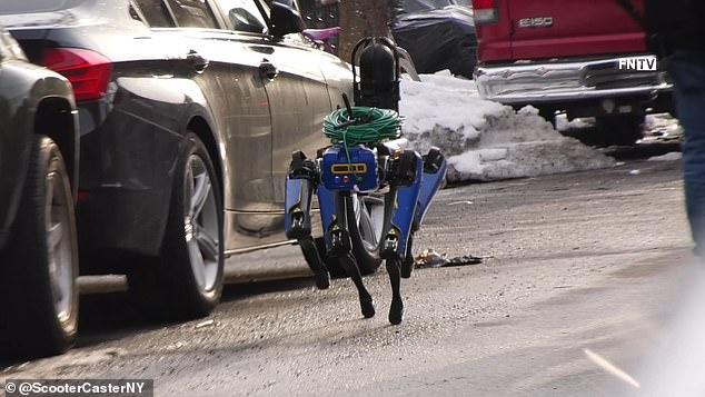 "New York Cops Deploy ""Creepy"" Robot Dog"