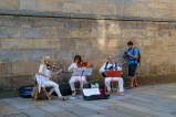 Overal in de straten was er muziek. Ook 's morgens vroeg. Everywhere in the streets there was music. Even early morning!