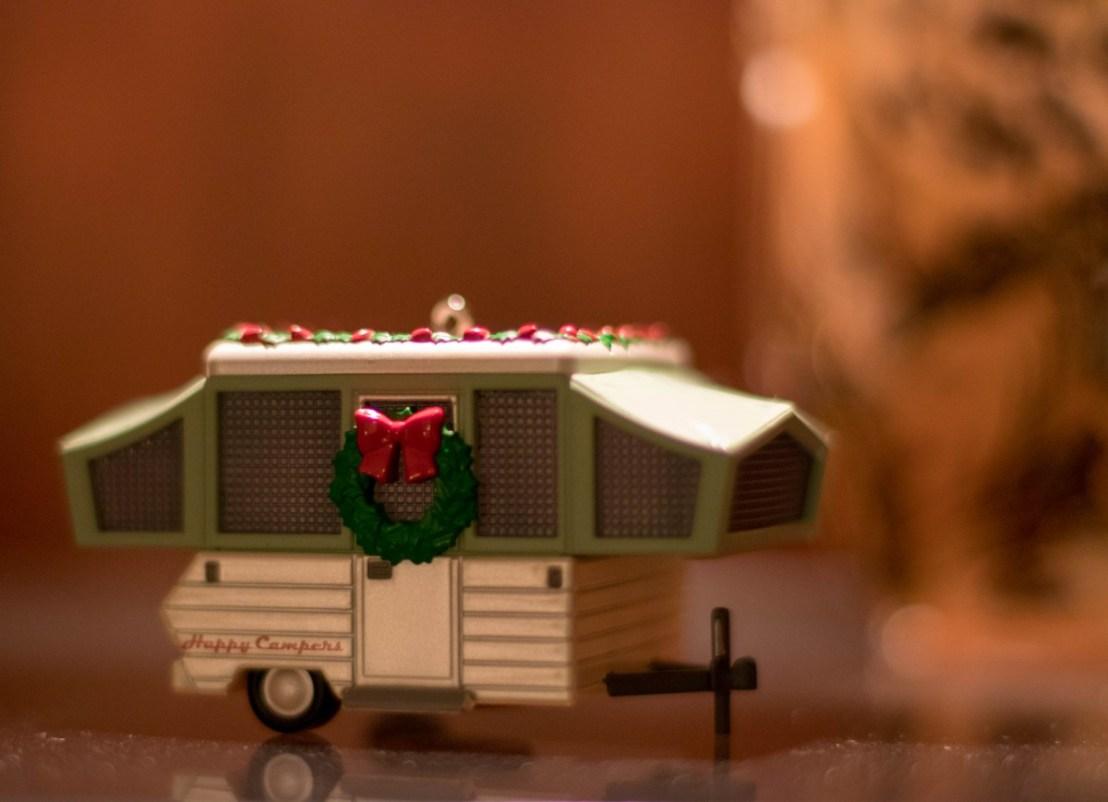 Camper Christmas Ornament
