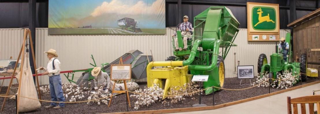 John Deere Cotton Harvester Generations