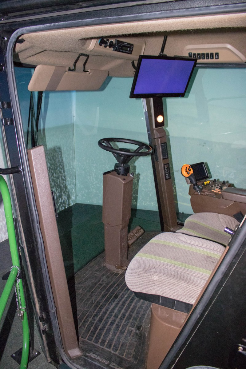 Cotton Harvester Simulator