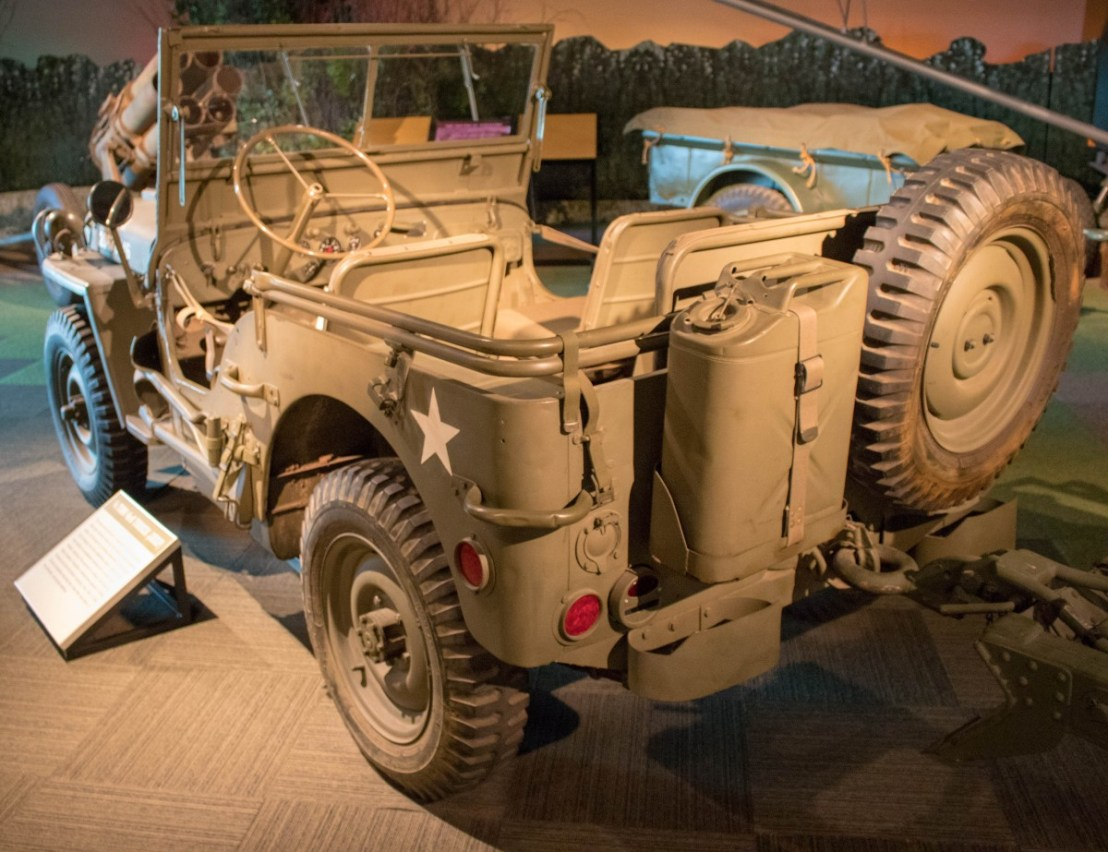 WW II 1/4 Ton 4X4 Truck (Jeep)