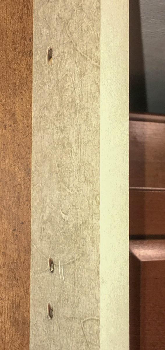 Protruding Screws Cut Flush With Bulkhead