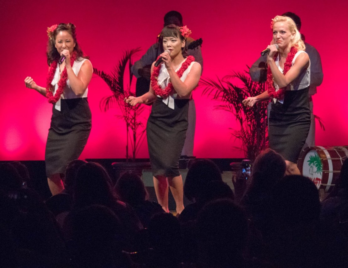 Boogie Woogie Bugle Boy Song and Dance Routine