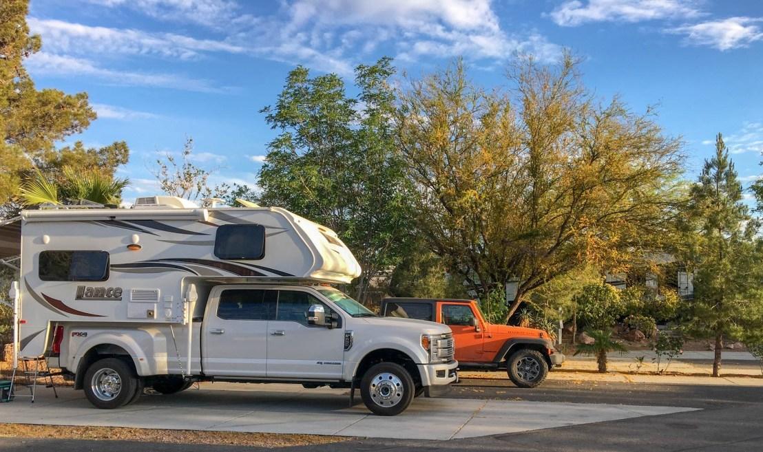 Nevada Treasure RV Resort Site 4-5