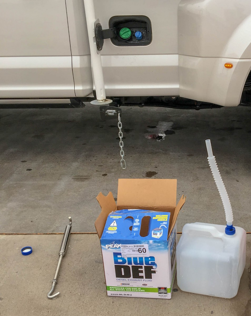 Blue DEF Purchase - 2.5 Gallons