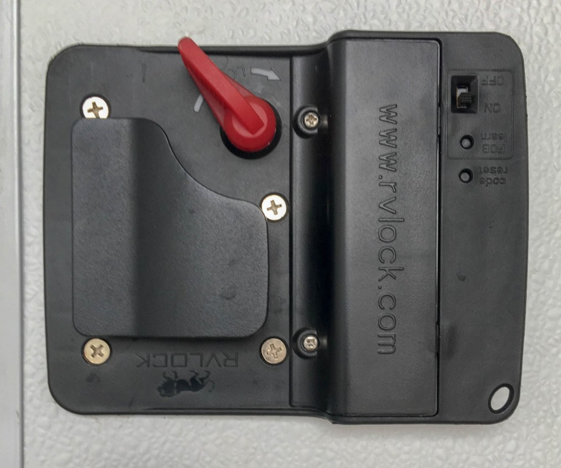 RVLock V4.0 With Integrated Keypad