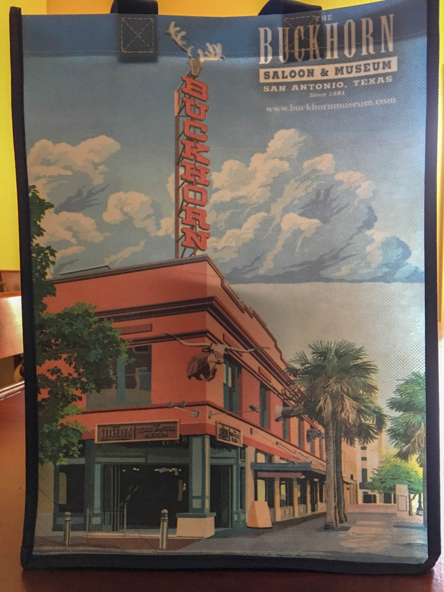 The Buckhorn Saloon & Museum Tote