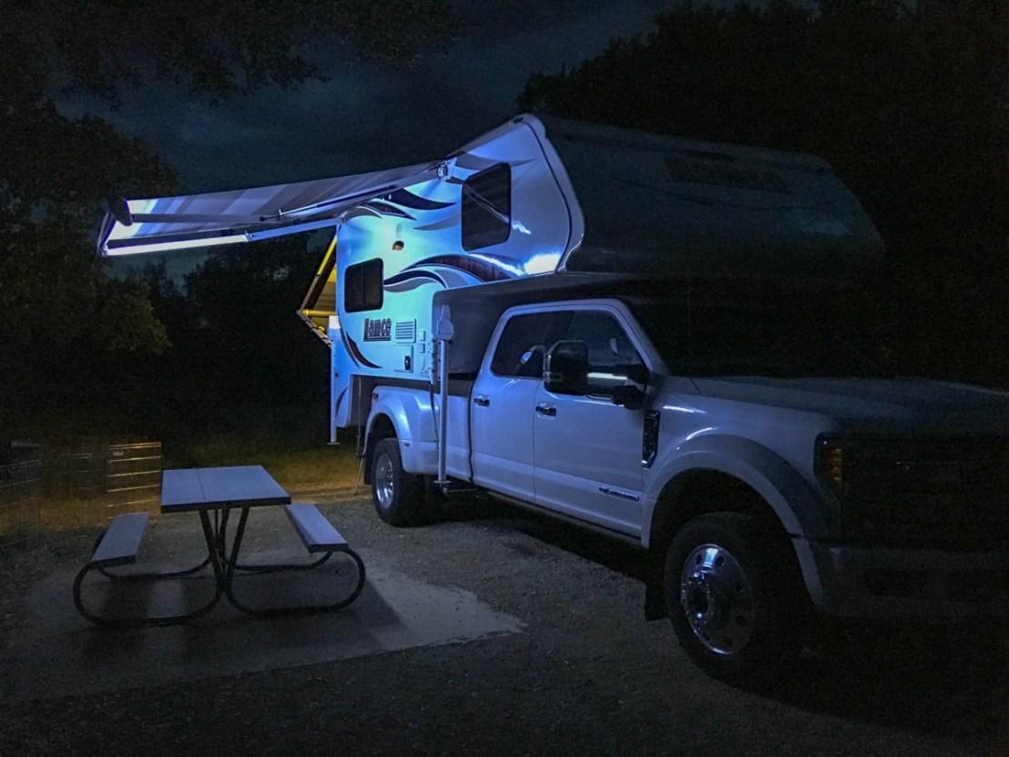 Twilight Ends at Lake Brownwood State Park