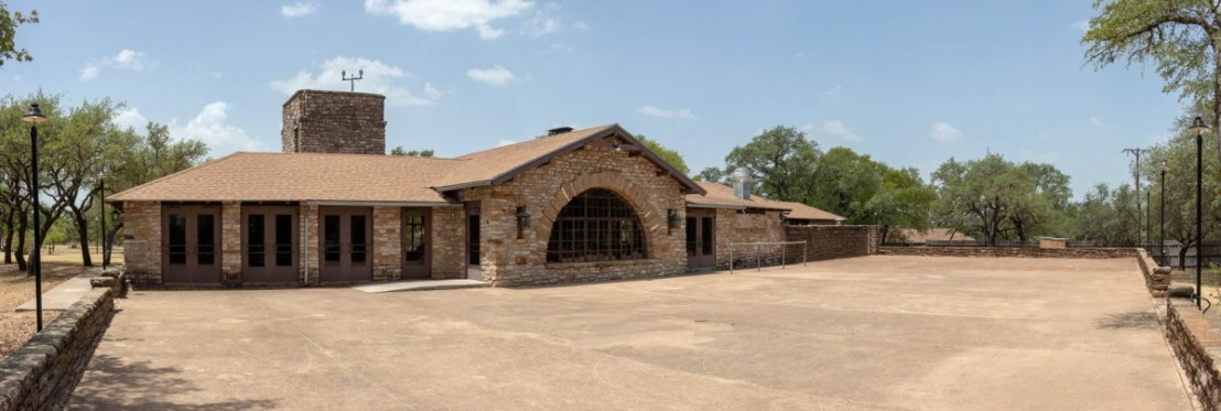Group Recreation Hall Patio at Lake Brownwood State Park