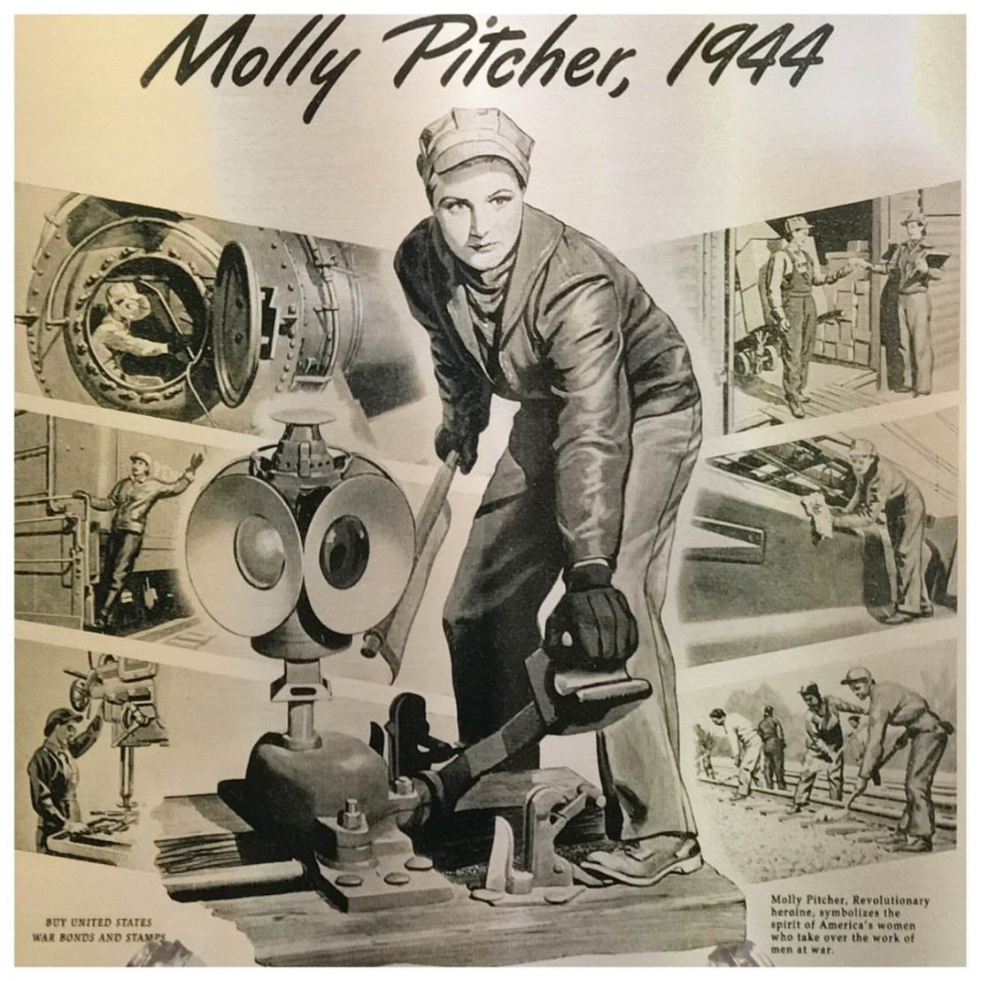 Molly Pitcher Poster
