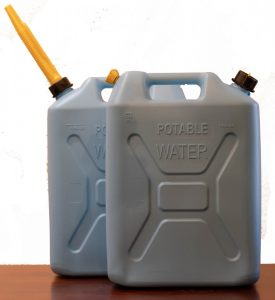 5 Gallon Potable Water Container with Spout