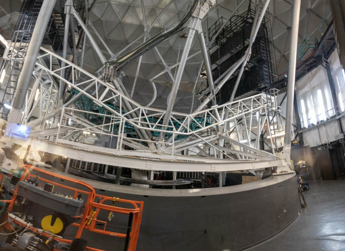 Hobby-Eberly Telescope Support Structure